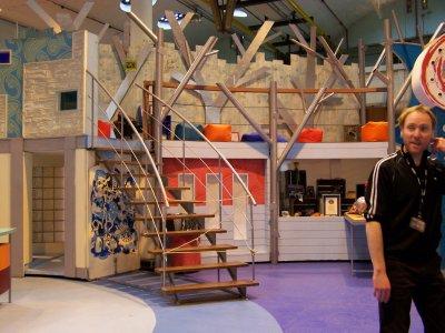 BBC Studio - old Blue Peter set