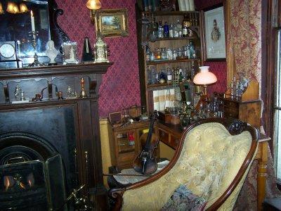 Sherlock Homes parlour