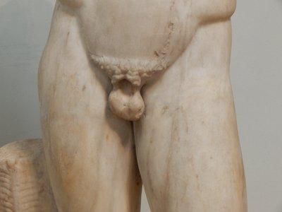 Greek statue - Britsh Museum