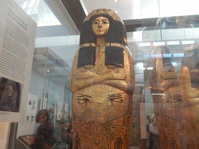 Sarcophagus - Egyptian room British Museum