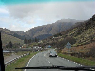 Loch Ness trip - farm houses