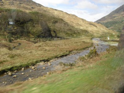 Loch Ness trip - mountain stream