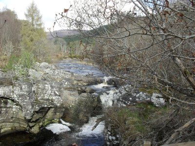 Loch Ness - River Moriston waterfall
