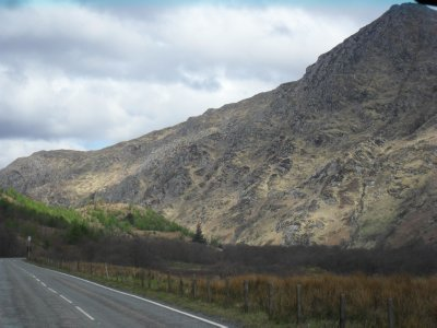 Loch Ness trip - Rugged terrain