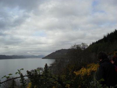 Loch Ness Loch view