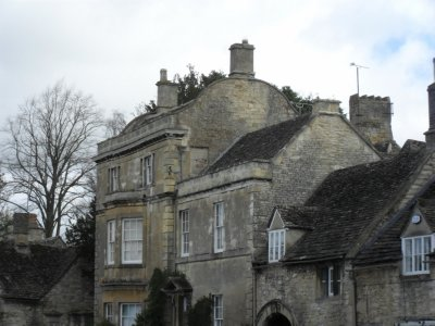 Burford stone house