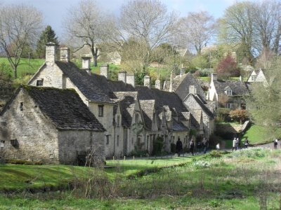 Arlington Row, the most photographed buildings in the Cotswolds