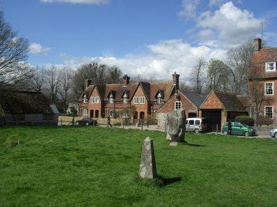 Stone circle at Avebury