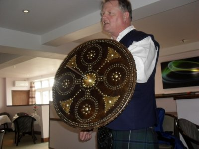 Highland targe