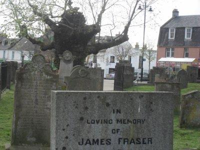 Jamie Fraser headstone
