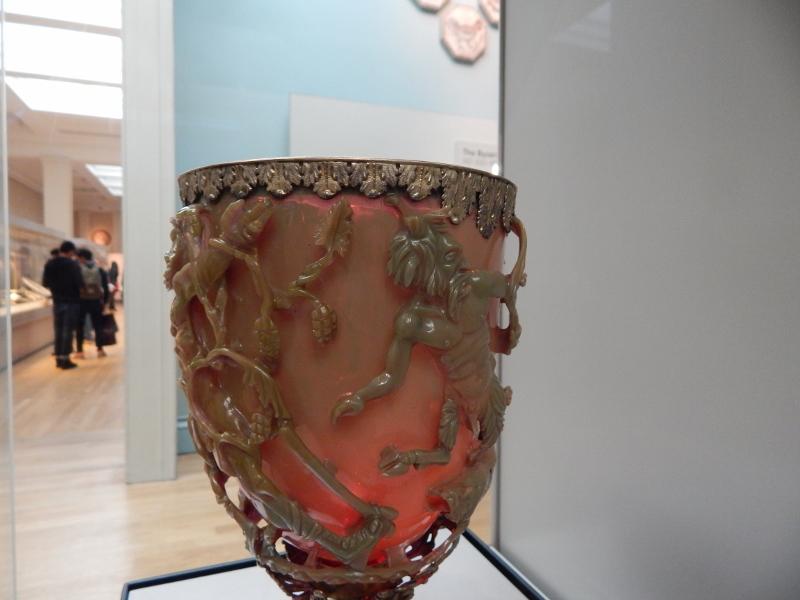 Lycurgus Cup - Roman circa 300AD