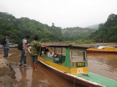 River boat travel, down the Nam Ou