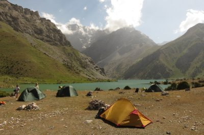 Camping at Kulikalon Lakes