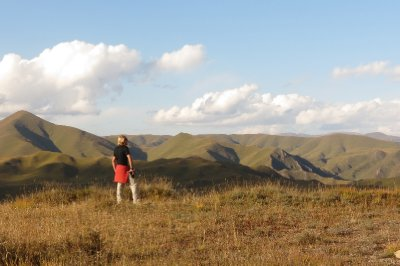 Tibetan countryside, Gansu Province