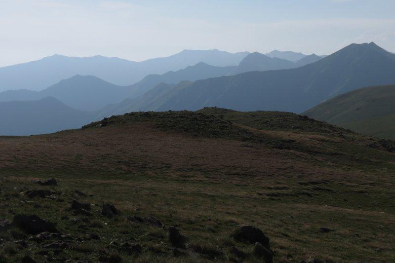 Sunset in the Caucasus