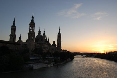 Zaragoza Sunset
