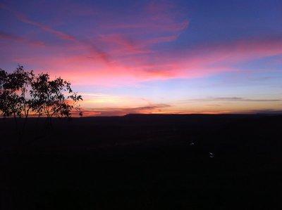 Sunset, Saddleback Ridge, El Questro