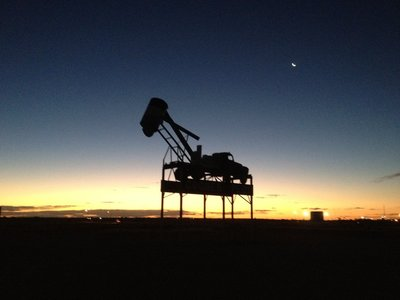 A Coober Pedy sunset