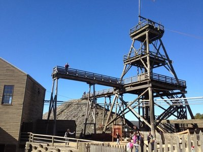 Perry on the tower, Sovereign Hill