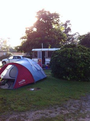 Tent site fail!