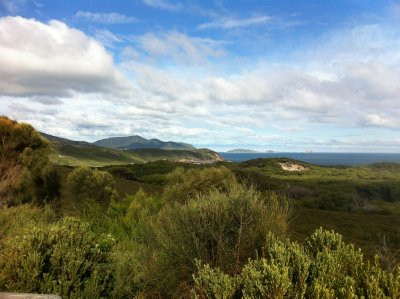 Looking toward the south at Wilsons Promontory