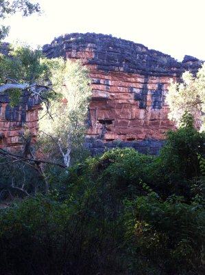 Rock Stacks, Windjana Gorge
