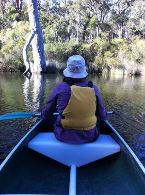 Canoeing on the Margaret River