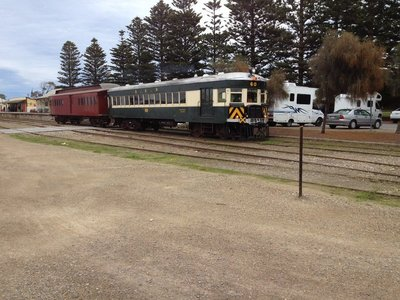 Near the Cockle Train in Goolwa SA