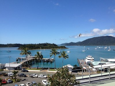 Looking down on Shute Harbour