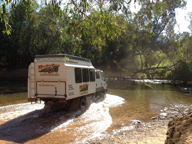 Fording the South Alligator River, Kakadu