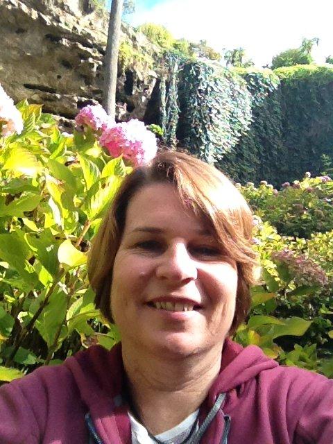 Karen in Umpherston Sinkhole