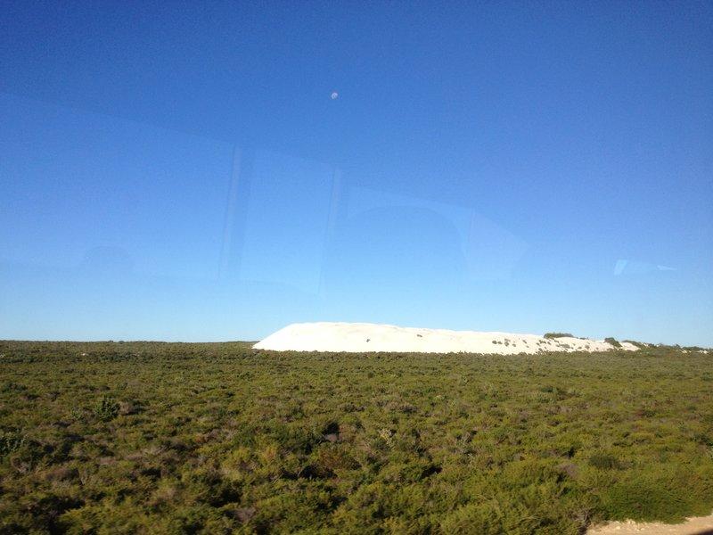 Sand dune in Wanagarren nature reserve