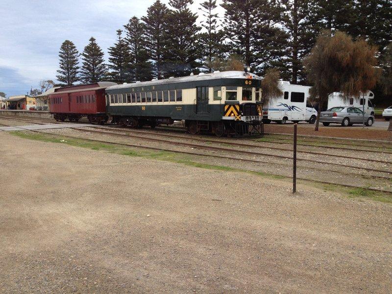 Near the Cockle Train in Goolwa SA