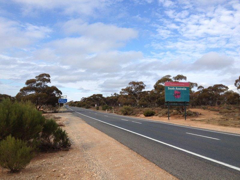 SA VIC border