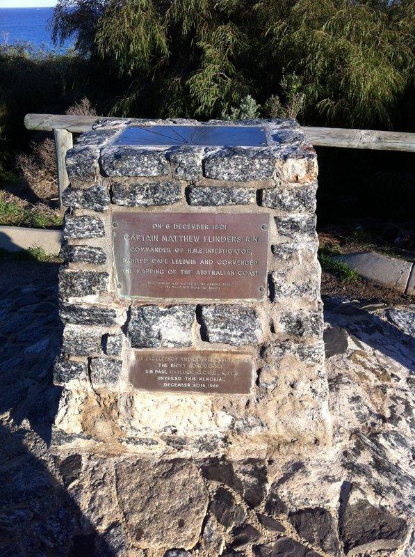 Captain Matthew Flinders plaque