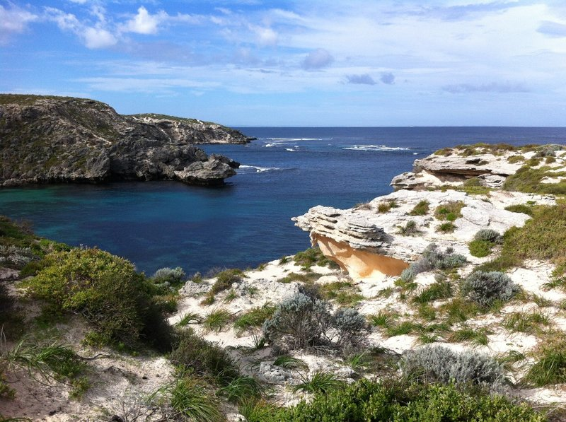 Looking out from Cape Vlamingh on Rottnest Island
