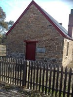 Historical Friedensberg church and school, Springton, SA