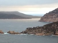 Wineglass Bay from Cape Tourville