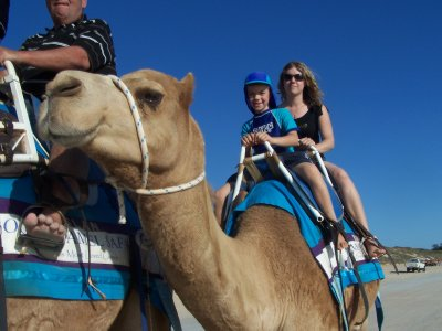 Me and Izaak on Camel