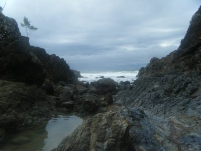 View from Rockpools