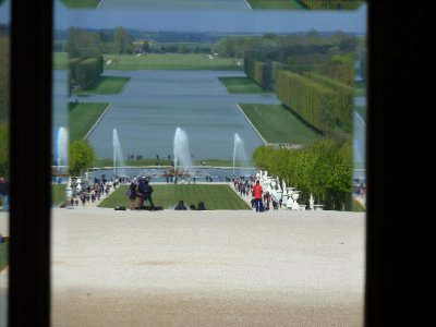 The view from the palace, Versailles