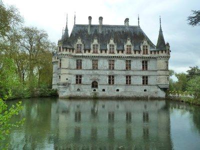 Romantic Chateaux Azay-le-Rideau
