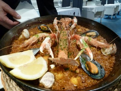 Seafood Paella in Madrid