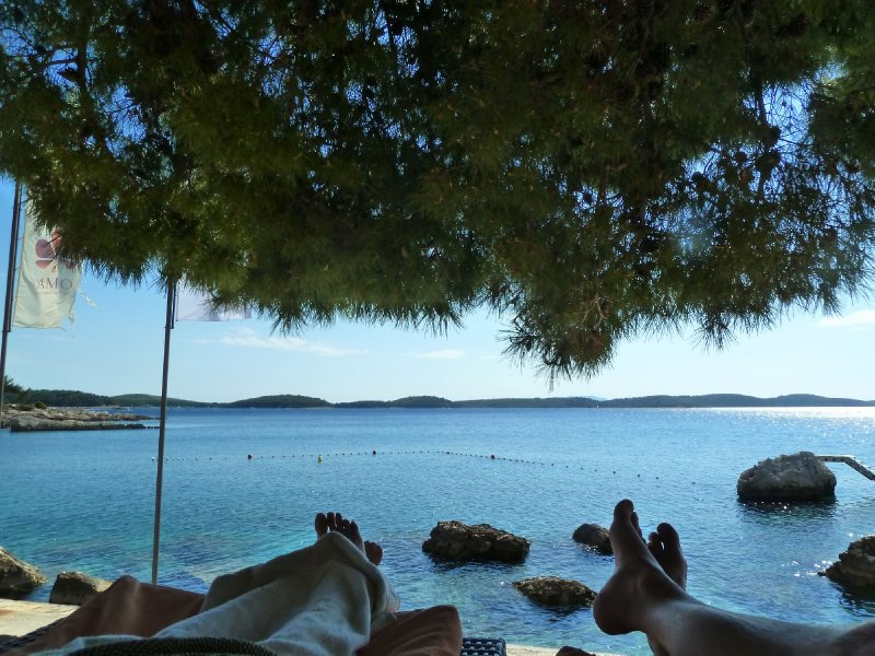 Siesta in Croatia