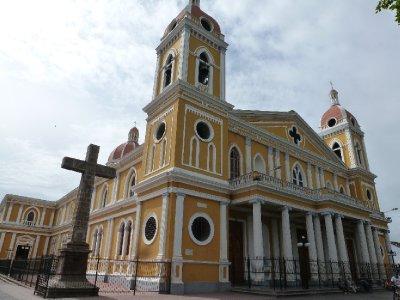 Cathedral, Parque Central, Granada