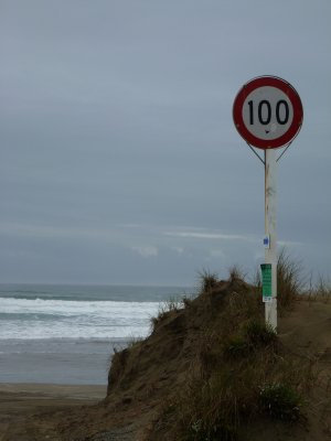 Entry to Ninety Mile Beach
