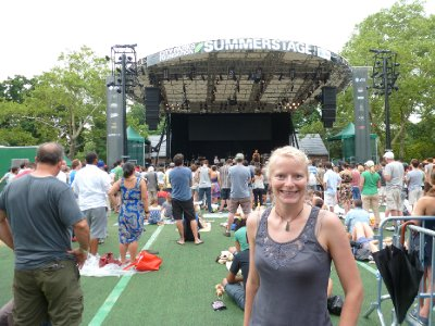 Free music, The Givers, Central Park