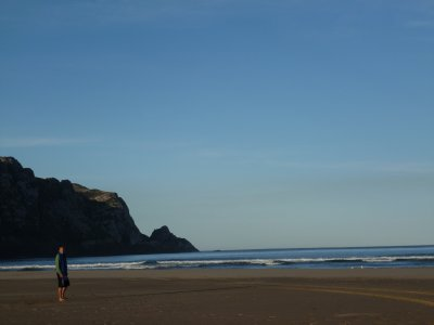 Joe, Purakaunui Beach
