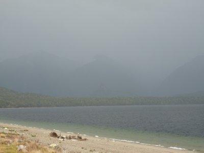 Manapouri Lake, pre launch 2