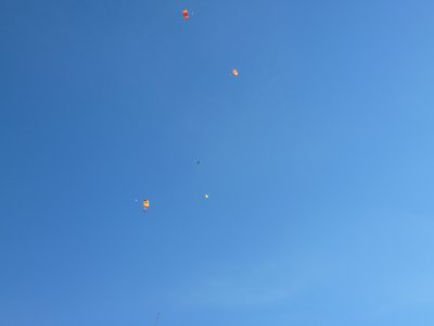 Parachutes, Skydive
